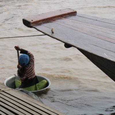 【慢。吳哥】暹粒|景|洞里薩湖・Tonle Sap