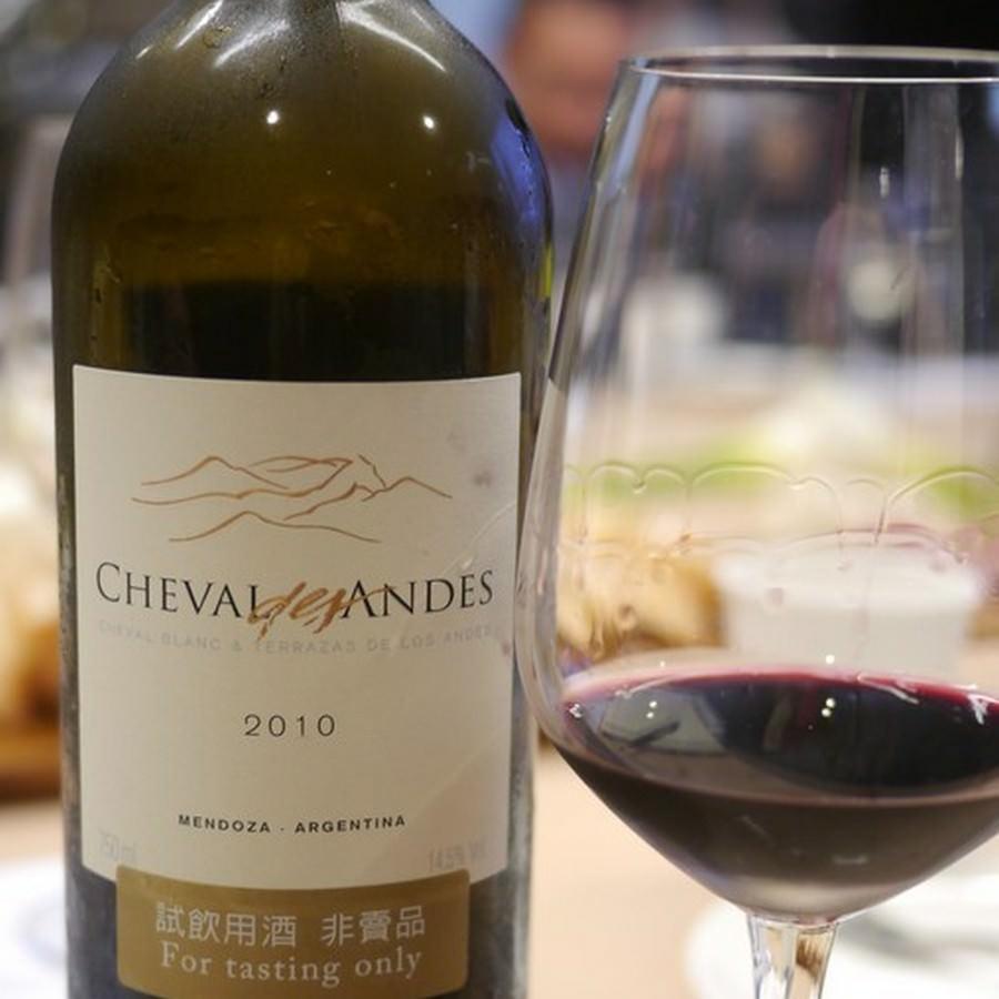 【飲・記錄】CHEVAL des Andes 2010